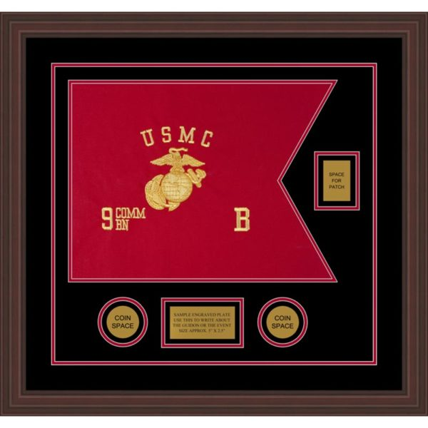 "Marine Corps 20"" x 15"" Guidon Design 2015-D2-M6"