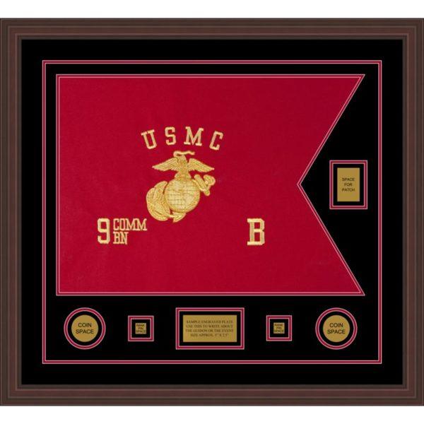 "Marine Corps 28"" x 20"" Guidon Design 2820-D2-M6"