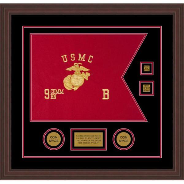 "Marine Corps 20"" x 15"" Guidon Design 2015-D3-M6"