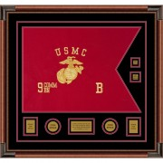 "Marine Corps 28"" x 20"" Guidon Design 2820-D3-M4"