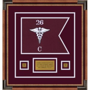 "Medical 12"" x 9"" Guidon Design 129-D1-M1"