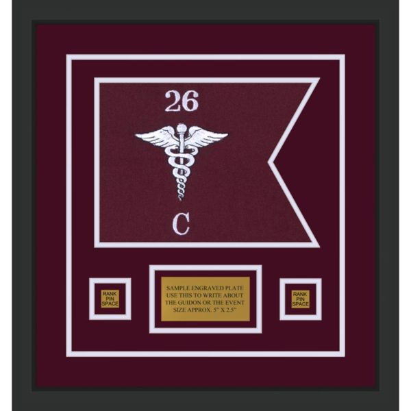 "Medical 12"" x 9"" Guidon Design 129-D1-M2"
