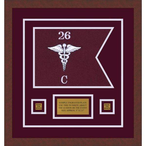 "Medical 12"" x 9"" Guidon Design 129-D1-M3"