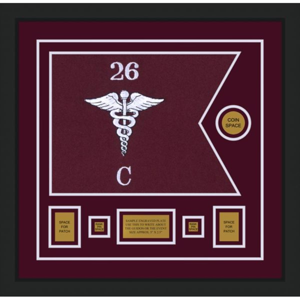 "Medical 20"" x 15"" Guidon Design 2015-D1-M5"