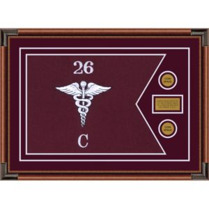 "Medical 28"" x 20"" Guidon Design 2820-D1-M4"