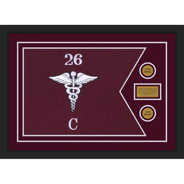 "Medical 28"" x 20"" Guidon Design 2820-D1-M5"
