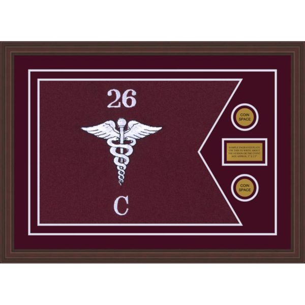 "Medical 28"" x 20"" Guidon Design 2820-D1-M6"