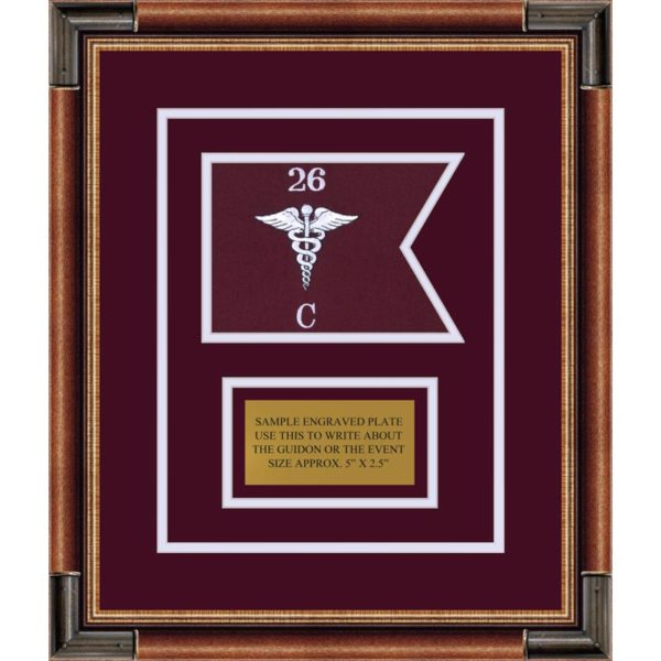 "Medical 7"" x 5"" Guidon Design 75-D1-M1"