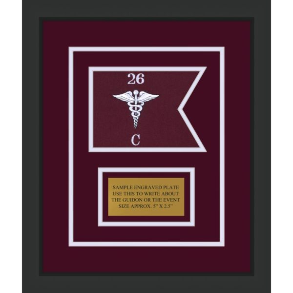 "Medical 7"" x 5"" Guidon Design 75-D1-M2"