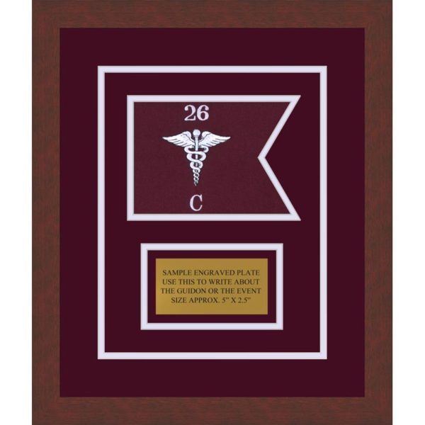 "Medical 7"" x 5"" Guidon Design 75-D1-M3"