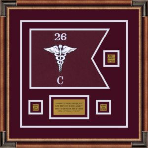 "Medical 12"" x 9"" Guidon Design 129-D2-M1"