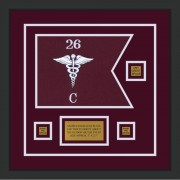 "Medical 12"" x 9"" Guidon Design 129-D2-M2"