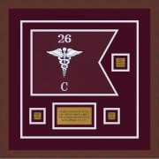 "Medical 12"" x 9"" Guidon Design 129-D2-M3"