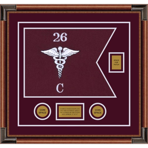 "Medical 20"" x 15"" Guidon Design 2015-D2-M4"