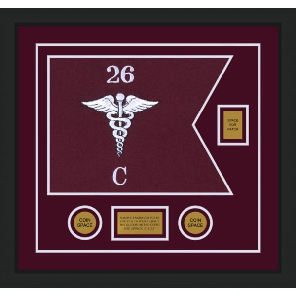 "Medical 20"" x 15"" Guidon Design 2015-D2-M5"