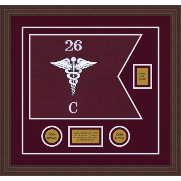 "Medical 20"" x 15"" Guidon Design 2015-D2-M6"