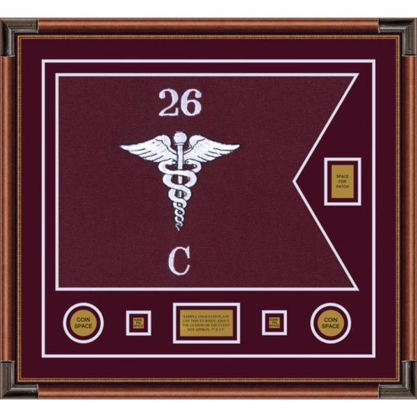 "Medical 28"" x 20"" Guidon Design 2820-D2-M4"