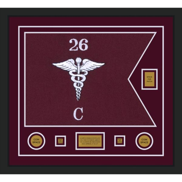 "Medical 28"" x 20"" Guidon Design 2820-D2-M5"