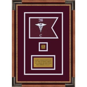 "Medical 7"" x 5"" Guidon Design 75-D2-M1"