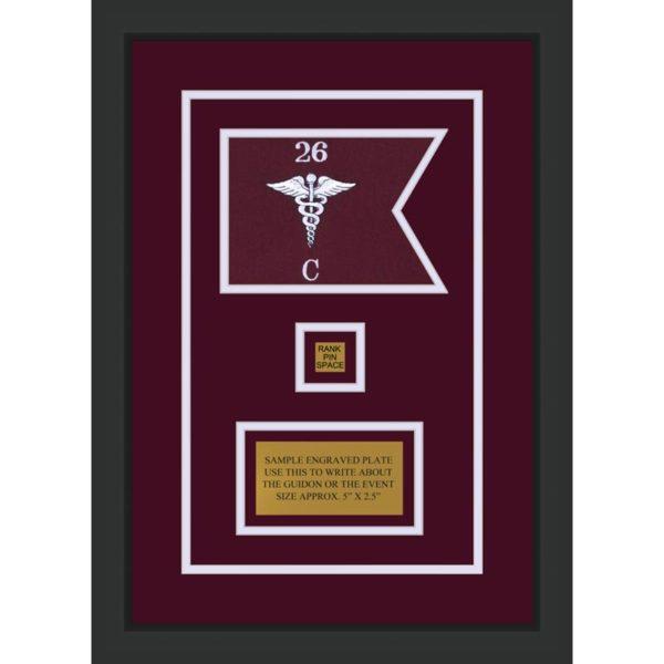 """Medical 7"""" x 5"""" Guidon Design 75-D2-M2"""
