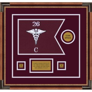 "Medical 12"" x 9"" Guidon Design 129-D3-M1"