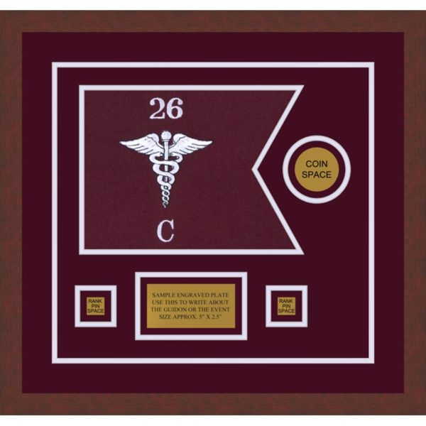 "Medical 12"" x 9"" Guidon Design 129-D3-M3"