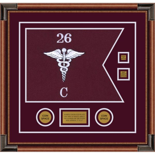 "Medical 20"" x 15"" Guidon Design 2015-D3-M4"
