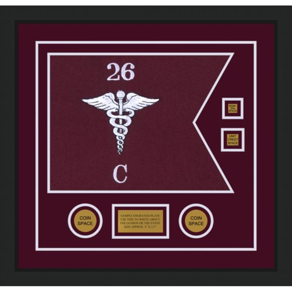 "Medical 20"" x 15"" Guidon Design 2015-D3-M5"