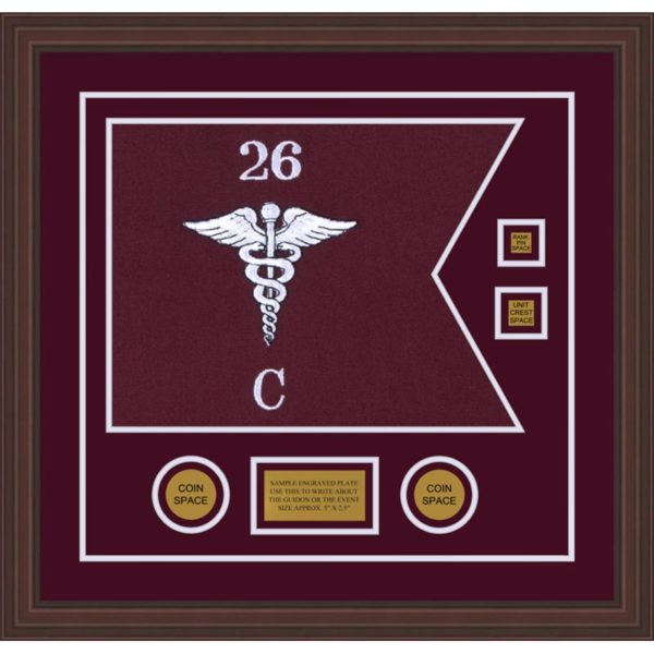 "Medical 20"" x 15"" Guidon Design 2015-D3-M6"