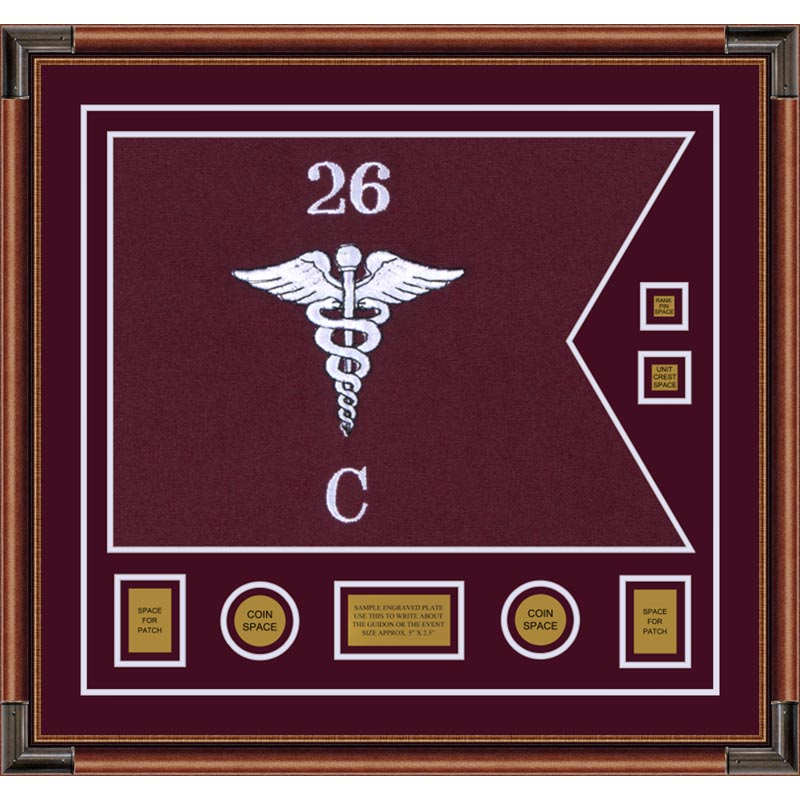 "Medical 28"" x 20"" Guidon Design 2820-D3-M4"