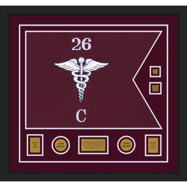 """Medical 28"""" x 20"""" Guidon Design 2820-D3-M5"""