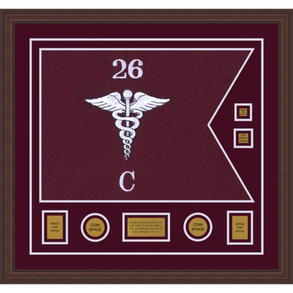 """Medical 28"""" x 20"""" Guidon Design 2820-D3-M6"""