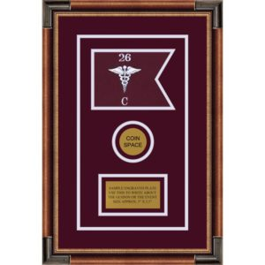 "Medical 7"" x 5"" Guidon Design 75-D3-M1"
