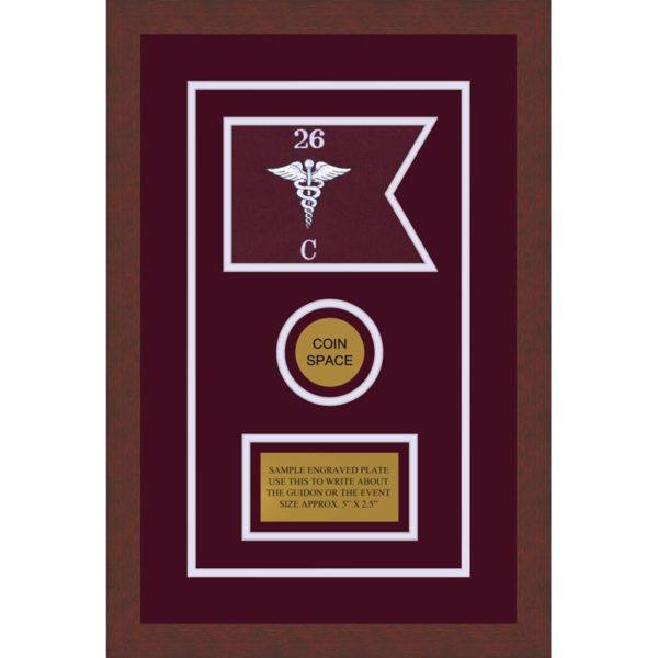 "Medical 7"" x 5"" Guidon Design 75-D3-M3"