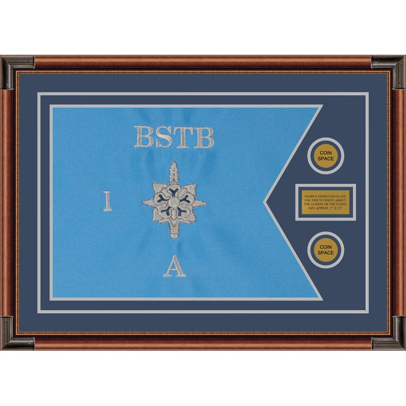 "Military Intelligence 28"" x 20"" Guidon Design 2820-D1-M4"