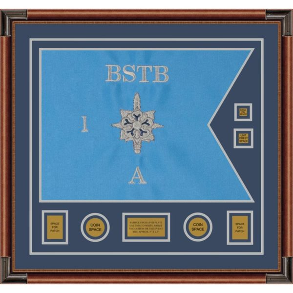 "Military Intelligence 28"" x 20"" Guidon Design 2820-D3-M4"