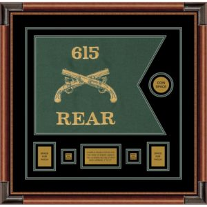 """Military Police 20"""" x 15"""" Guidon Design 2015-D1-M4"""