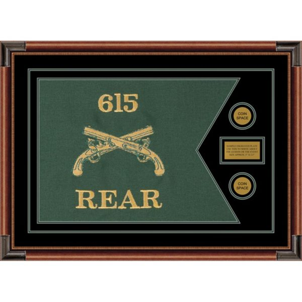 """Military Police 28"""" x 20"""" Guidon Design 2820-D1-M4"""