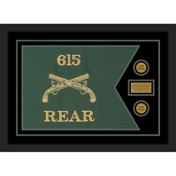 """Military Police 28"""" x 20"""" Guidon Design 2820-D1-M5"""