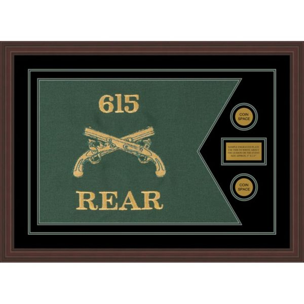 """Military Police 28"""" x 20"""" Guidon Design 2820-D1-M6"""