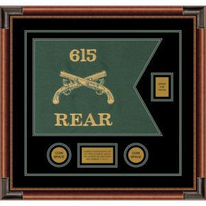 """Military Police 20"""" x 15"""" Guidon Design 2015-D2-M4"""