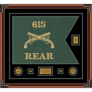 """Military Police 28"""" x 20"""" Guidon Design 2820-D2-M4"""