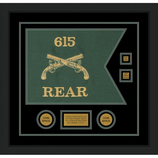 """Military Police 20"""" x 15"""" Guidon Design 2015-D3-M5"""