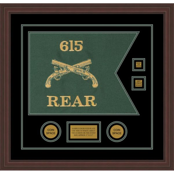 """Military Police 20"""" x 15"""" Guidon Design 2015-D3-M6"""