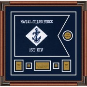 "Navy 20"" x 15"" Guidon Design 2015-D1-M4"