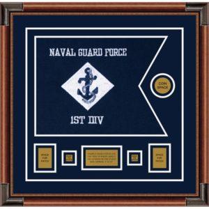 """Navy 20"""" x 15"""" Guidon Design 2015-D1-M4"""