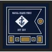 "Navy 20"" x 15"" Guidon Design 2015-D1-M5"