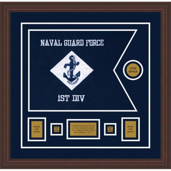 "Navy 20"" x 15"" Guidon Design 2015-D1-M6"