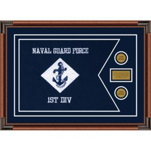 "Navy 28"" x 20"" Guidon Design 2820-D1-M4"
