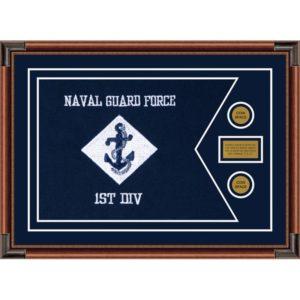 """Navy 28"""" x 20"""" Guidon Design 2820-D1-M4"""